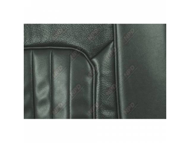UPHOLSTERY SET Front Bucket Seats XR-7 dark ivy