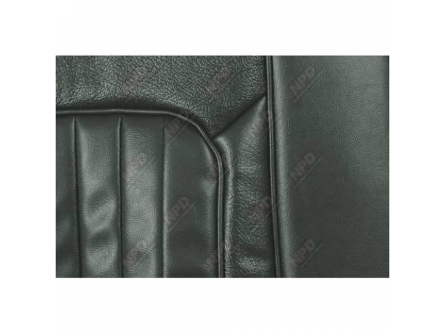 UPHOLSTERY SET Bucket Seat XR-7 dark ivy gold