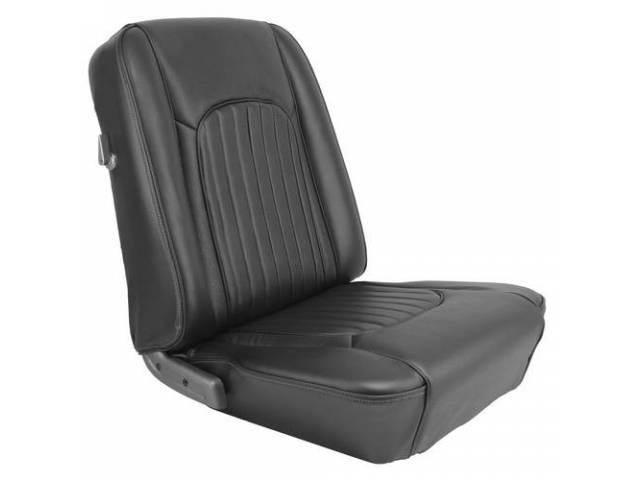UPHOLSTERY SET Front Bucket Seats XR-7 black repro