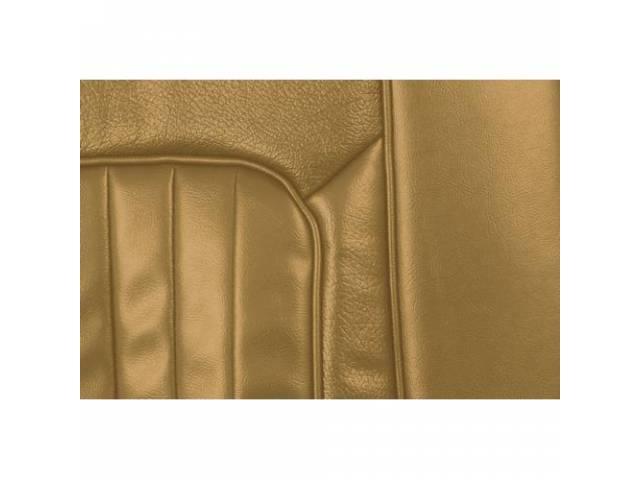 UPHOLSTERY SET Bucket Seat XR-7 light nugget gold