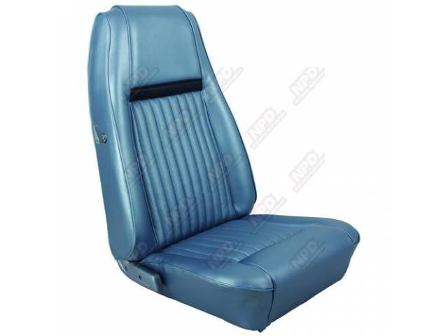 UPHOLSTERY SET Front Bucket Seats XR-7 Decor blue