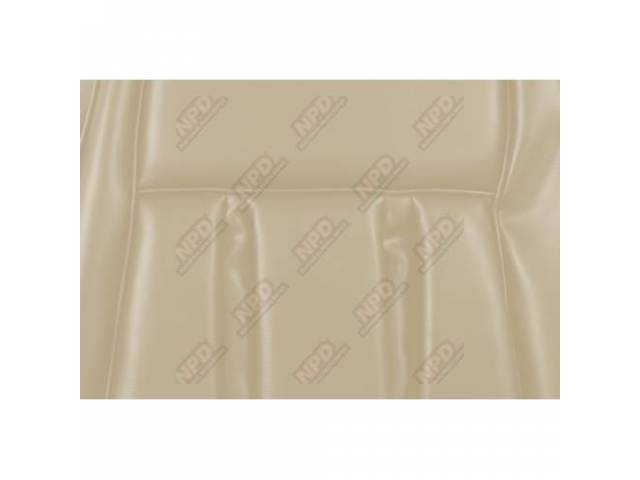 UPHOLSTERY SET Front Bucket Seats XR-7 white repro