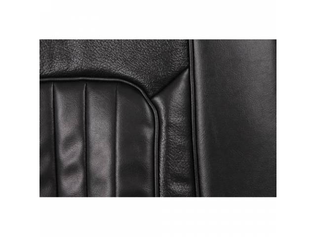 UPHOLSTERY SET Rear Seat XR-7 black repro rear