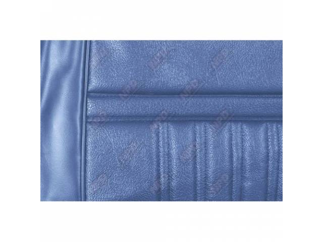 UPHOLSTERY SET Rear Seat Decor blue repro rear
