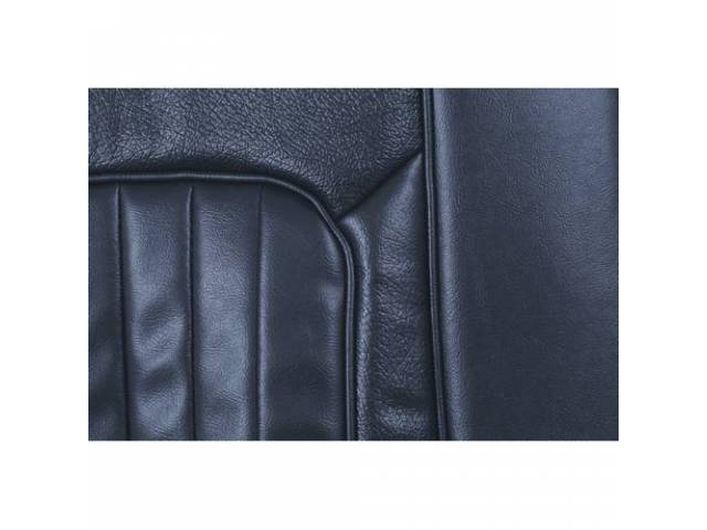 UPHOLSTERY SET Rear Seat XR-7 dark blue repro