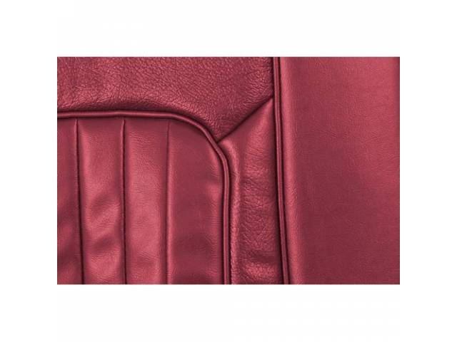 UPHOLSTERY SET Rear Seat XR-7 dark red repro