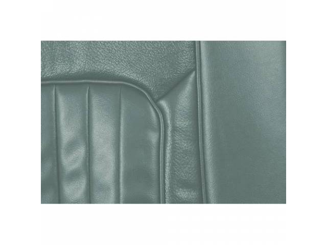 UPHOLSTERY SET Rear Seat XR-7 light aqua repro