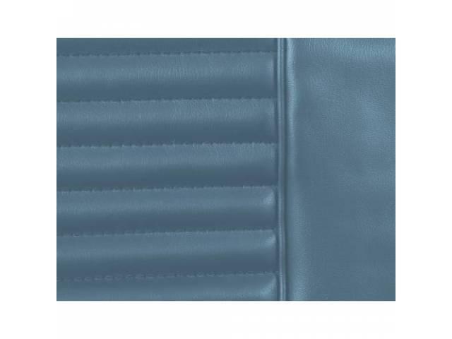 UPHOLSTERY SET Rear Seat light blue repro rear