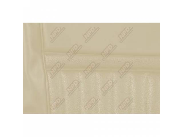 UPHOLSTERY SET Rear Seat Decor white repro rear