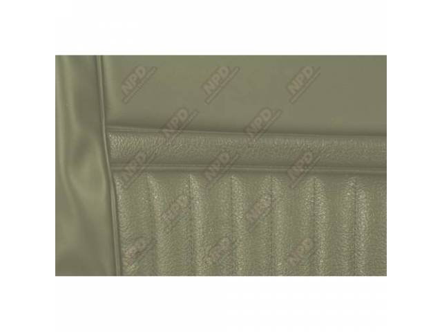 UPHOLSTERY SET Rear Seat Decor light ivy gold