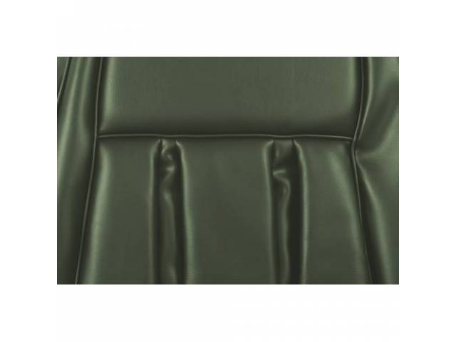 UPHOLSTERY SET Rear Seat XR-7 medium ivy green