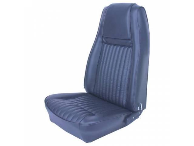 UPHOLSTERY SET Rear Seat Decor medium blue repro