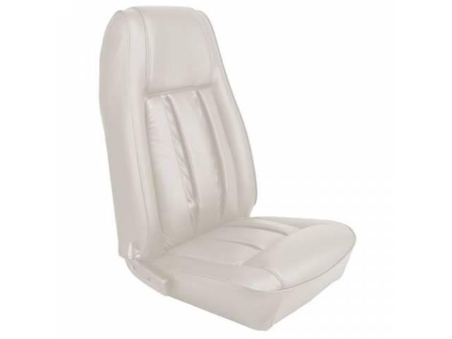 UPHOLSTERY SET Rear Seat XR-7 white repro rear